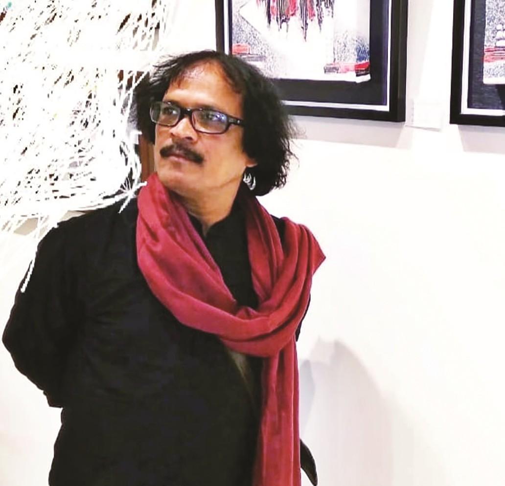 রং খোঁজে স্বপ্নের আঙিনা : আশরাফ হোসেন